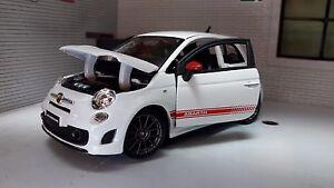 LGB G Scale 1:24 Fiat 500 Abarth SS Esseesse Burago cast Model ...