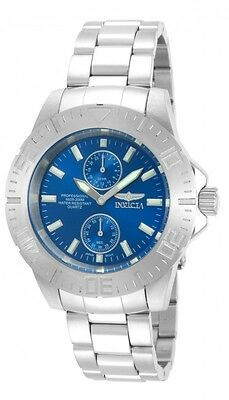 Invicta Pro Divers Men's Blue Small Seconds Dial Stainless Steel Watch 14346