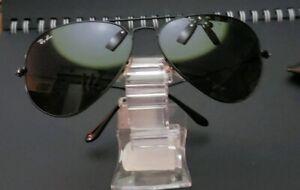 ray ban black metal aviator sunglasses