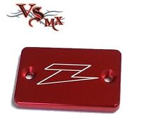 Zeta FRONT Brake Reservoir Cover RED SUZUKI DRZ DRZ400SM DRZ400S 00-15