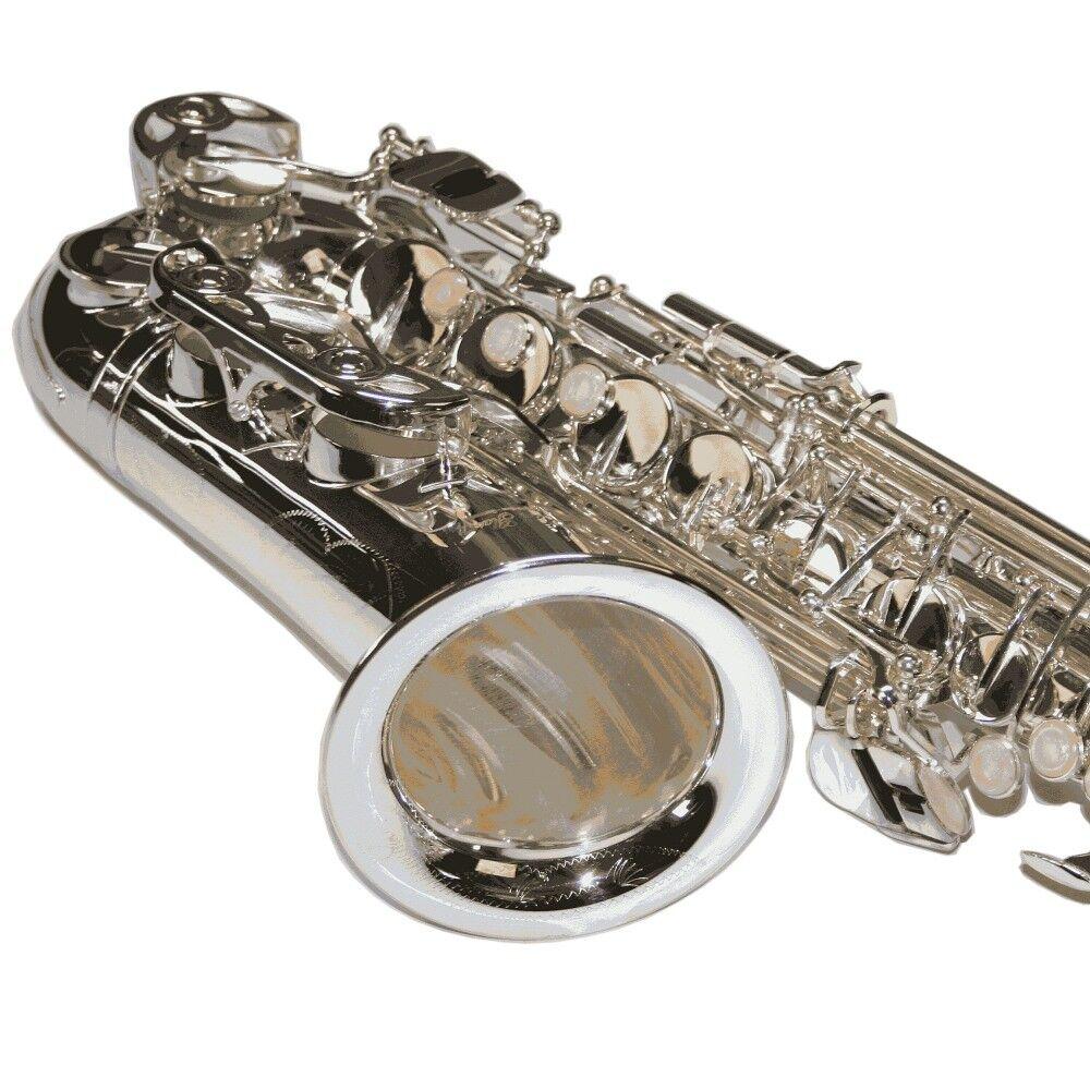 Karl Glaser Alt Saxophon ES Stimmung mit Koffer Mundstück Blättchen versilbert