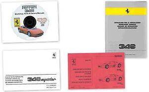 Ferrari-348-manuale-riparazione-tecnico-officina-CD-workshop-repair-manual