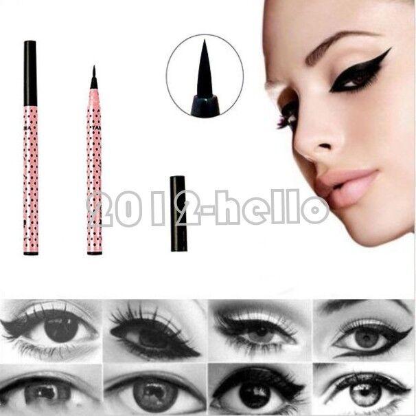 Black Waterproof Liquid Eyeliner Eye Liner Pencil Pen Make Up Beauty Comestics