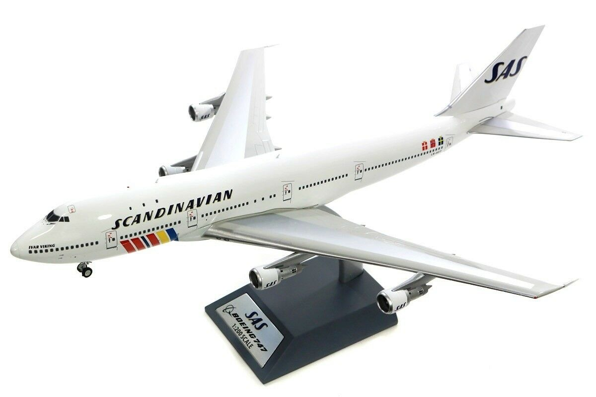 Inflight 200 If742sas0618 1 200 SAS Boeing 747-200 Ln-Aeo Ivar