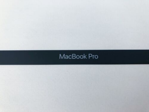 "NEW Genuine Apple Logo Baffle Bezel Trim 15/"" Macbook Pro 2016 2018 USA 2017"