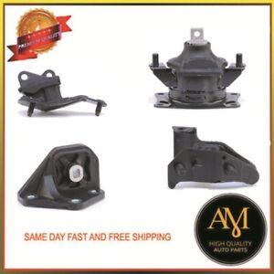 New-Engine-amp-Auto-Trans-Mount-4PCS-Set-For-Honda-Accord-2-4L-2003-2007