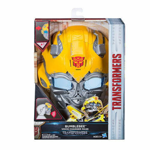 HASBRO TRANSFORMERS MV5 THE LAST KNIGHT BUMBLEBEE VOICE CHANGER MASK