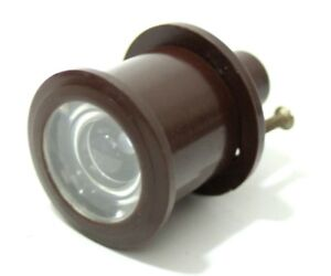 Free Shipping pl4655 100% High Quality Materials Vintage Bakelite Door Lens
