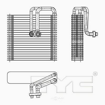A//C Evaporator Core Front TYC 97113