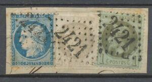 FRANCE-N-25-37-et-41B-sur-fragment-Obl-Cote-353-P3295