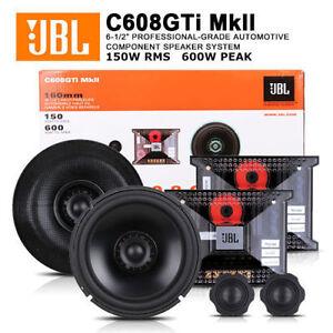 New Jbl C608gti Mkii Gti Series 6 1 2 6 3 4 2 Way Component Car