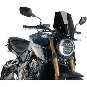 Puig New Generation Windscreen - CB1000R (Black) 9748N