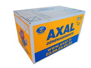 vente de 10 cartons de demenagement standard approuv d m nageur pro 55x35x33 ebay. Black Bedroom Furniture Sets. Home Design Ideas