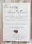 miniature 4 - 10-Mariage-Invitations-soiree-invite-Personnalise-amp-fait-main-avec-enveloppes