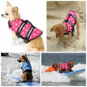 NEW-Dog-s-Preserver-Boat-Safety-Vest-Life-Jacket-Outdoor-Swimming-Clothe-XXS-XXL