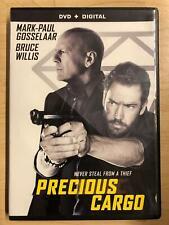 Precious Cargo DVD 2016 Bruce Willis Mark-paul Gosselaar
