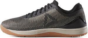 Détails sur Reebok Crossfit Nano 8 Toile Hommes formation chaussures Gris Gym Entraînement Baskets afficher le titre d'origine