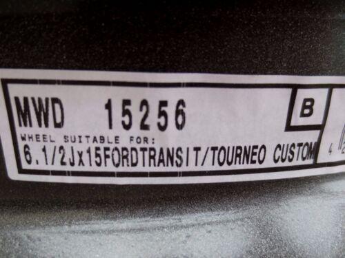 4 x Stahlfelgen Ford Transit Ford Tourneo Custom  6,5Jx15 H2 5x160 ET60 Neuware