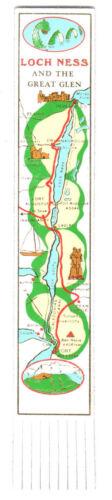 Leather Bookmark Scottish Highlands Fort William Nevis Range Loch Ness Scotland