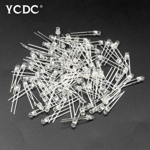 3//5mm Green White Red Blue Yellow LED Light Emitting Diode Lamps 100Pcs Lots 79