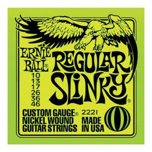 Ernie Ball EB 2221 Regular Slinky Nickel Wound .010-.046