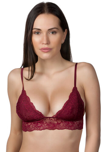 Anemone Junior Ladies Wireless Non-padded Triangle Full Lace Bralette #713