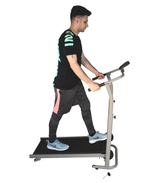 "X-Factor Manual Adjustable Treadmill Walking Exercise folding 54""L 56""H 22""W NEW"