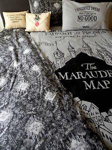 Harry Potter Bettwäsche Set Marauders Map Karte Des Rumtreibers