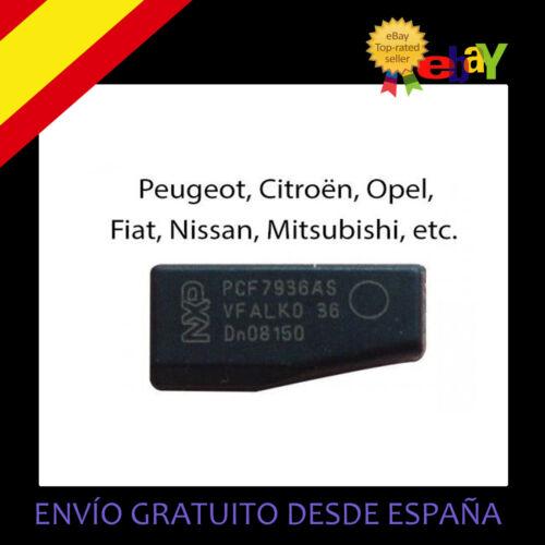PCF7936AS Transponder ID46 TPX4 Chip Llave Cle Peugeot Citroën TP12
