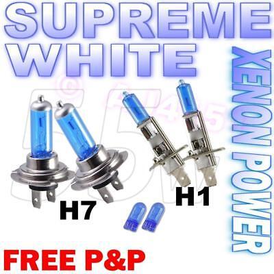 Ford Focus MK2 H1 H7 501 100w Clear Xenon HID High//Low//Side Headlight Bulbs Set