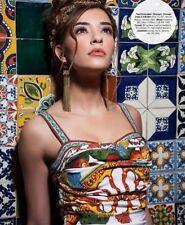 $2,345 NWT! Dolce & Gabbana RUNWAY Majolica Print Silk Sheath Dress IT 38 U.S 2