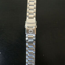 Replacement Steel Bracelet w/ Oyster Clasp for Seiko 5 20mm Custom