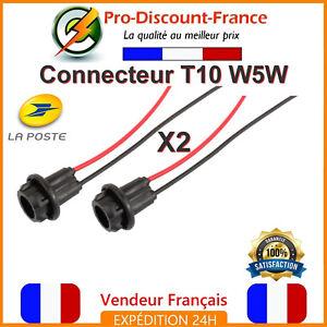 2-x-Connecteur-T10-W5W-Douille-Culot-Adaptateur-Souple-Ampoule-Prise-Voiture-LED