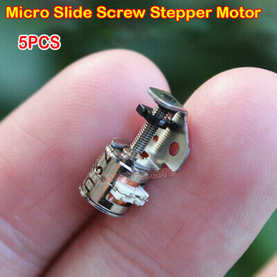 5pcs 6mm 2 phase 4 wire micro-stepping motor Canon with a small plastic gear