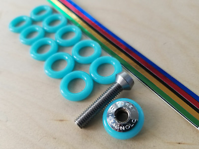 2 Blue NEW O Ring Rubber CAMPAGNOLO NUOVO SUPER RECORD brake caliper adjuster