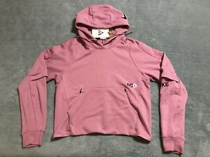 9bf16d60ce Nike NikeLab ACG Pullover Hoodie Womens sz SMALL S Elemental Pink ...
