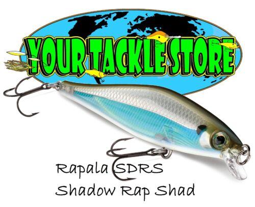 Rapala SDRS09 Shadow Rap Shad Pick Color /& Quantity NIP
