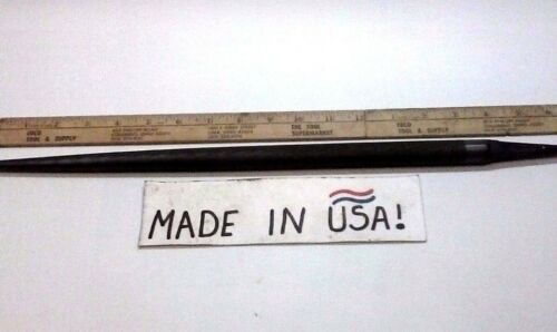 "New 16/"" Round Smith Brand USA made HUGE! 3//4/"" Round J.B Smooth File 19/"" Long"
