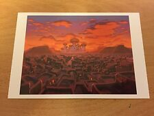 The Art of Disney Themed Postcard - Aladdin #2 - NEW