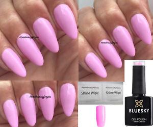 Image Is Loading Bluesky Pn04 Pastel Neon Baby Pink Nail Gel