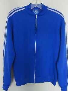 cheapest price arrives amazing selection Details about mint 70s ADIDAS VENTEX blue track top jacket not football  shirt vintage size 174