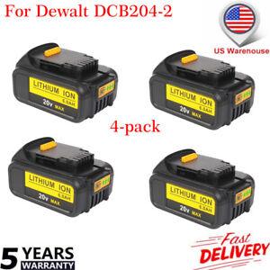 4-Pack-For-DeWalt-20V-20-Volt-Max-XR-6-0-Amp-Lithium-Ion-Battery-Pack-DCB204-2