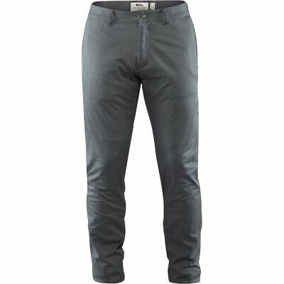 Black 56 Mens Greenland Stretch Trousers Long Fjallraven