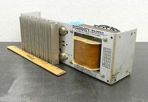 POWERVOLT BVA-24FS12  DC POWER SUPPLY NEW CONDITION