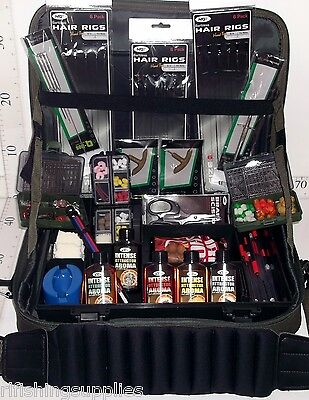 Carp Fishing Ultimate Fully Loaded Accessory Set Mega Deal Tackle Case With Box
