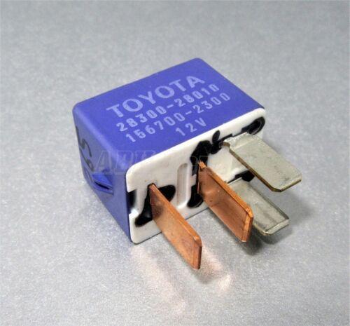 265-Toyota /& Lexus 4-Pin Blue Starter Relay 28300-28010 Denso 156700-2300 12V