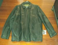 Mens Wilson Black Classy Style Leather Jacket Xlt Nice Dress Look Beatiful