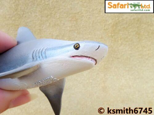 Safari SQUALO TORO solido giocattolo in plastica Pesci Selvatici Mare Animale Marino Nuovo *