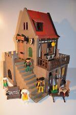 8554 playmobil Rathaus Raadshuis 3447 vakwerk klicky vintage