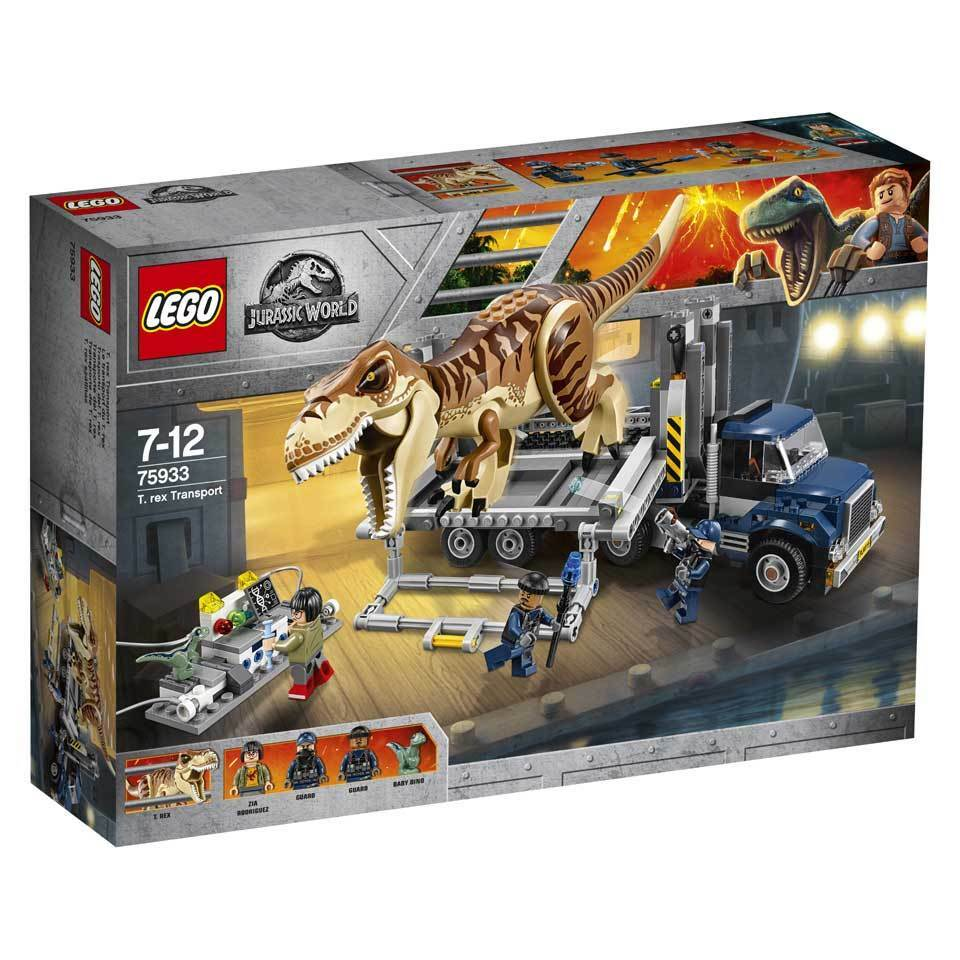 LEGO 75933 Exclusive Jurassic World T Rex Transport Le transport du T Rex N6/18